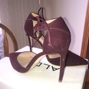 Women's Plum Heels size 8